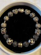 Completed Pandora Bracelet - Amour Love - 16 Charms