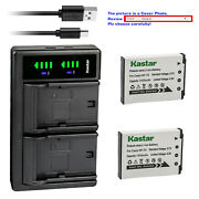 Kastar Battery Ltd2 Charger For Casio Np-70 Bc-70l And Casio Exilim Zoom Ex-z250
