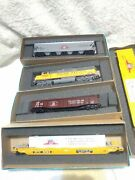 Lot Of 5 Ho Athearn Chicago Train And Box Cars 1998 New Open Box