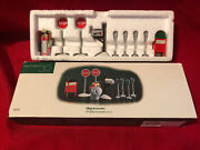Department 56 Sv Utility Accessories Set Of 9 Stop Signs Mailbox Parking Meters