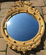 Vintage 1930,s Shelby Federal Style Convex Mirror