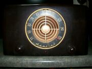 Admiral Am Broadcast Receiver With Record Changer Console Model 6m22