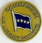 Commander Air Mobility Command Global Reach For America Challenge Coin Amc Star