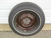 1973 Javelin Sst Amx Nice Factory Orig Survivor Goodyear F 70 Spare Tire And Wheel