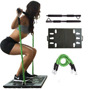 Portable Home Workout Package With Resistance Bands For Home Fitness Equipment