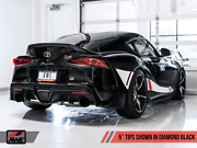 Awe Tuning 2020+ Toyota Supra Mk5 Mkv A90 Touring Non-resonated Exhaust Blk Tips