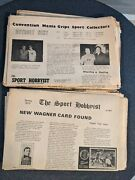 Lot Of 9 The Sport Hobbyist Newspapers 1972 1973 1974 Plus Advertisers