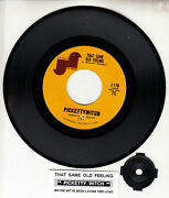 Pickettywitch That Same Old Feeling 7 45 Rpm Record New Rare + Juke Box Strip