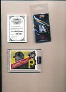 Topps Project 2020 Mister Cartoon Roberto Clemente 10 Autographed /55 Silver