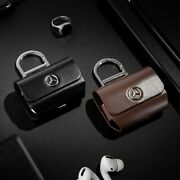 Mercedes-benz Premium Collection Air Pods Pro Leather Cases /5 Types Of Choice 1