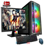 Amd 3800x 8 Core Nvme Gaming Bundle Pc Rtx 2080 Super 8gb 23.6and039and039screen Up856