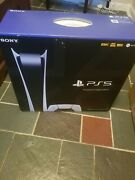 Sony Playstation 5 Ps5 Digital Edition Console In Hand Ready To Ship Expedited