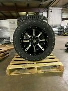 20x10 A2 Off-road Moto Metal Fuel At 33 Wheel Tire Package 6x135 Ford W/tpms
