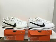 Nike Cortez Basic Leather And03906 Mens Sneaker Style316418 102 White/black Vintage