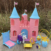 Dream Castle Playset With Majesty + Spike - Vintage G1 My Little Pony Play Set