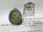 ✝ Reliquary Relic True Cross Crucis D.n.j.c. + Document