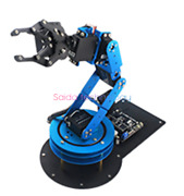 6-degree-of-freedom Robot Arm Learm/stm32/51 Single-chip Microcomputer Open.