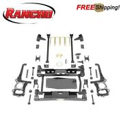 Rancho 6 Suspension System Lift Kit Fits 2017-2018 Ford F150