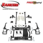Rancho Rs66501b 6 Suspension Lift Kit For 2015-2016 Ford F150 4wd
