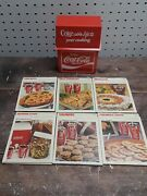 Vintage Coca Cola Coke Adds Life To Your Cooking Box With Sealed Cards