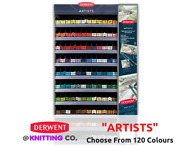 Derwent Artists Professional Coloured Pencil Singles - Choose From 120 Colours