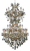 2800d36sggtrc 34 Light Chandelier Maria Theresa Gold