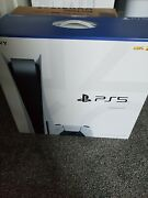 Sony Playstation 5 Console Disc Version In Hand Ready To Ship