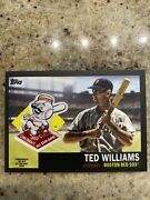 2018 Topps Series 2 Ted Williams Black All Star Commemorative Patch 13/99 Redsox