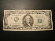 1 100.00 Series 1963-a B Federal Reservestar Note Xf Circulated Condition