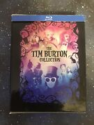 Tim Burton Collection Blu-ray 7-disc Boxset Classic Favorites Movies - Preowned