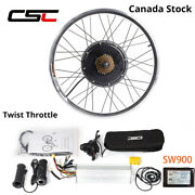 Electric Bike Conversion Kit 48v 1500w Electric Bicycle Motor Wheel Canada Stock