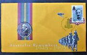 Australian 50 Cents Pnc 1995 End Of Wwii 50th Anniversary Commemorative Coin