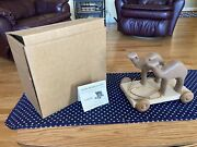 Henn Workshops Colectorand039s Society Noahand039s Ark Pull Toy 4th In Series Camels