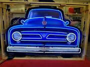 Ford Pickup Truck Front End Neon Sign / Ford Neon / Ford Signs Gas And Oil
