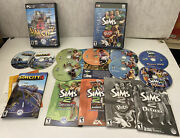 Lot Simcity 4 Deluxe, The Sims 2 University, Open For Business, Pets Pc Games
