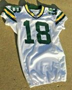 Carlyle Holiday Green Bay Packers Game Used Nfl Football Jersey