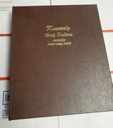 Kennedy Halves 154 Coin Set Dansco 1964-2010 Panddandsand Proofsand Silver Proofs