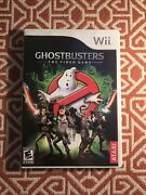 Ghostbusters The Video Game {nintendo Wii} 2009 - Complete In Box Cib
