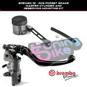 Brembo Radial Brake Pump 19rcs + Kit Tank For Ktm 950 Supermoto R 07and039-08and039