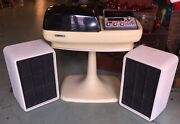 Vtg Brother Stereophonic Primus Ii Am/fm 8 Track Tape Record Player With Stand