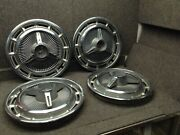 Vintage 1960and039s Chevrolet Chevy Ss 14 Spinner Wheel Cover Hubcap