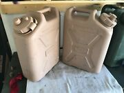 1 Scepter Military Water Can 20l/5 Gallon Desert Tan Jerry Can Grade 2