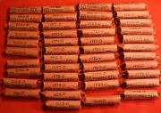 2012-d Lincoln Shield Cent Penny 50 Coin Roll Circulated