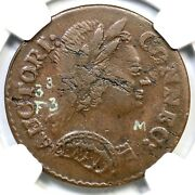 1785 3.3-f.3 Ngc Xf 45 Connecticut Colonial Copper Coin