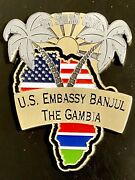 Msg-d Marine Security Guard Detachment Banjul, The Gambia Challenge Coin