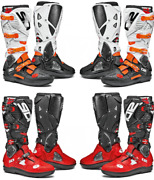 Sidi Crossfire 3 Srs Motorcycle Motorbike Urban And Touring Boots Ce Approved