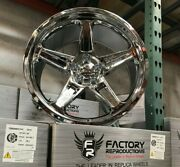 Fits 20 9.5 Demon Chrome Az850 Tire Wheel Package Rims For Charger Challenger
