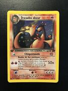 Carte Pokemon Dracaufeu Obscur 4/82 Rare Holo Edition1 Team Rocket Wizards Fr