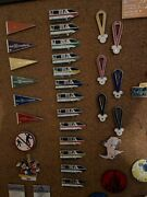 Lot Of 13 Disney Monorail Cast Lanyard Series Collection 2003-2007 Pins