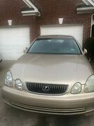 Lexus 2003 Gs 300 Car Works But Selling For Parts